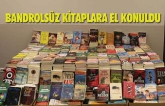Malatya'da Bandrolsüz Kitaplar Toplandı