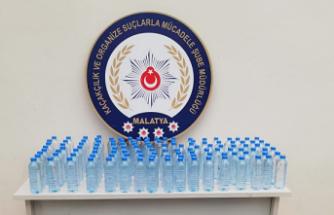 Malatya'da Sahte İçki Operasyonu... 4 gözaltı