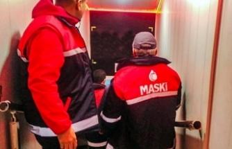 MASKİ'den Kaçak Su Taraması