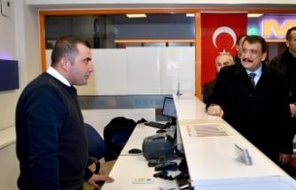 Başkan Gürkan'dan MAŞTİ'ye Ziyaret