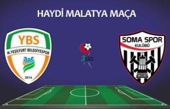 MYB, Somaspor'u2-1 mağlup etti
