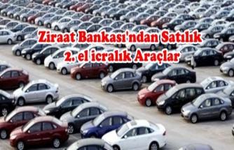Ziraat Bankası'ndan Satılık 2. El Arabalar
