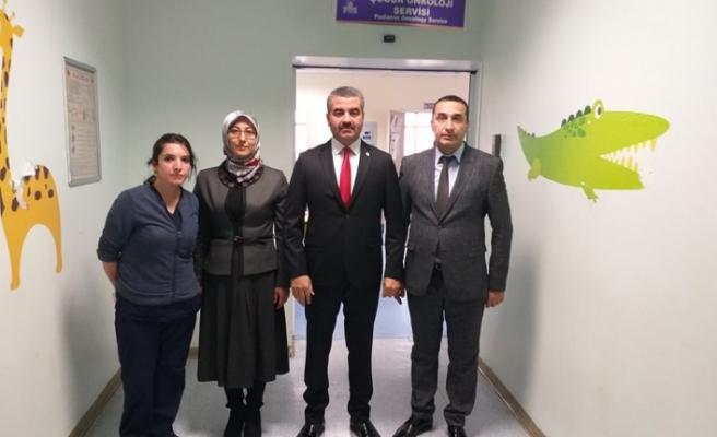 Başkan Avşar'da Lösemili Çocukları Unutmadı