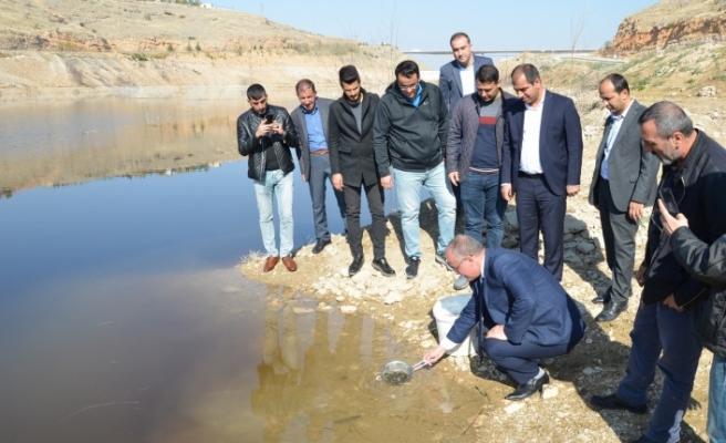 'Hedef; Barajımızın Verimliliğini Ve Su Ürünlerindeki Çeşitliliği Artırmak'