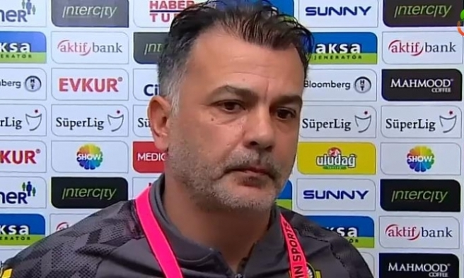Murat Şahin: 'Maç 3-2 olunca maçı kaybetmek üzücü'