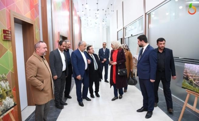 Rektör ve Akademisyenler, Gedik Kültür Merkezini Gezdi