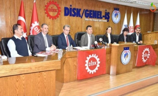 CHP'den DİSK' Genel İş Sendikası'nı ziyaret