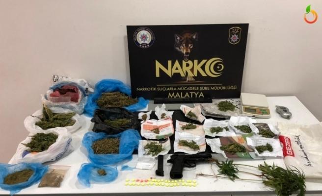 Malatya'da Uyuşturucu Tacirlerine Geçit Yok