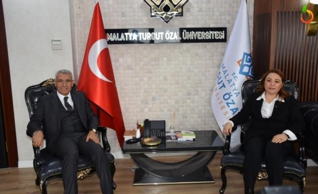 Başkan Güder'den Rektör Karabulut'a Ziyaret
