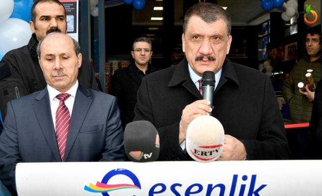 Esenlik  Kozkökü şubesini törenle hizmete açtı