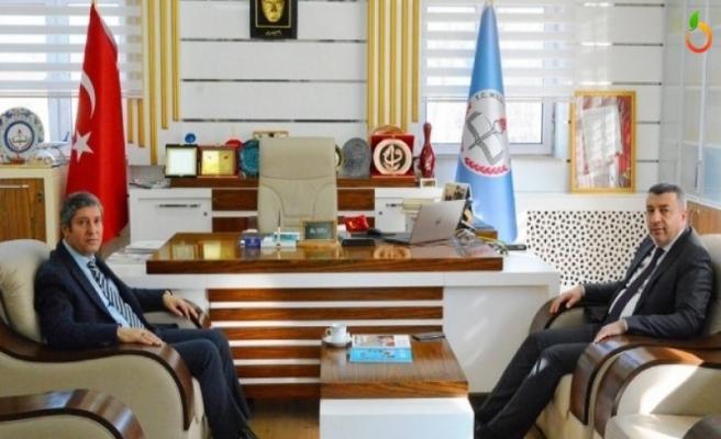 MTB Başkanı Özcan, Müdür Tatlı'yı Ziyaret Etti