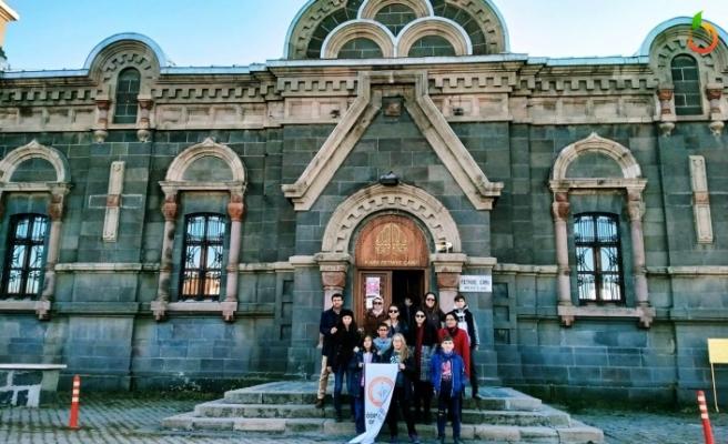 Öğretmen ve öğrenciler Doğu Ekspresi turu gerçekleştirdi
