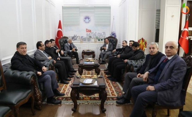 Başkan Güder, Cumhurbaşkanı Erdoğan'a Battalgazi'deki Zararları İletti