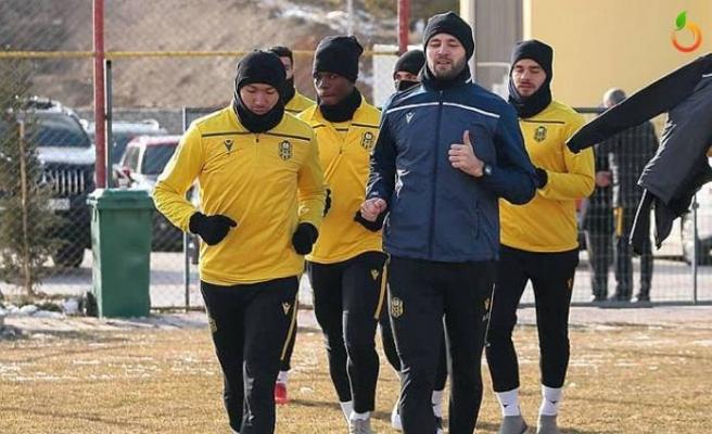 Y. Malatyaspor'da GS maçı hazırlıkları sürüyor