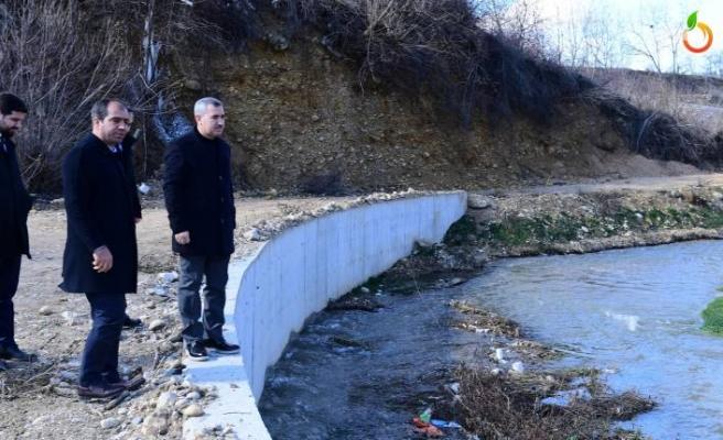 Yeşilyurt'ta  dereler ıslah edilerek güvenli ve modern çevre olacak