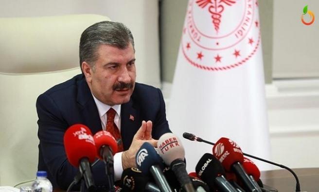 Sağlık Bakanı Koca açıkladı! Ölü sayısı 9, toplam vaka sayısı 670 oldu