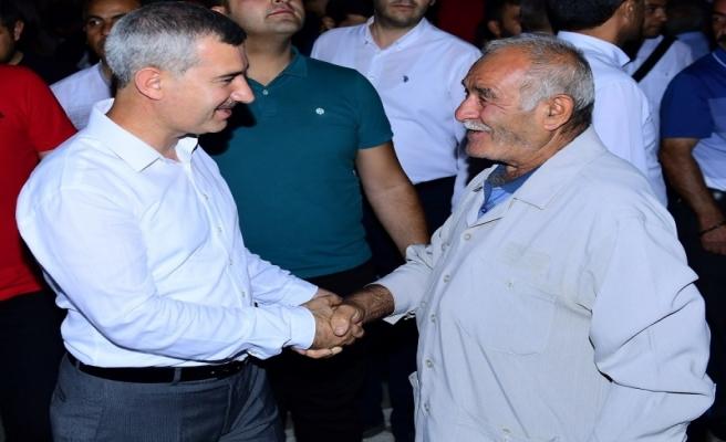 Başkan Çınar, hacı kafilesini uğurladı