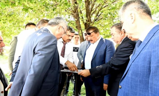 Başkan Gürkan, Mişmişpark Alanında İncelemelerde Bulundu