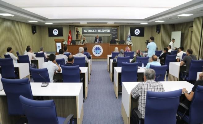 Battalgazi Belediye Spor ilk toplantısını gerçekleştirdi