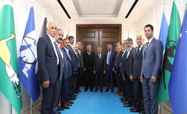 Darende Belediye Başkanı Özkan, Başkan Güder'i Ziyaret Etti