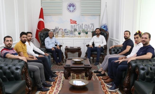 Genç MÜSİAD Malatya Yönetiminden Başkan Güder'e Ziyaret