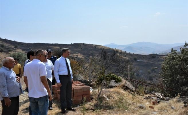 Hekimhan'da Çıkan Yangın Kontrol Altına Alındı