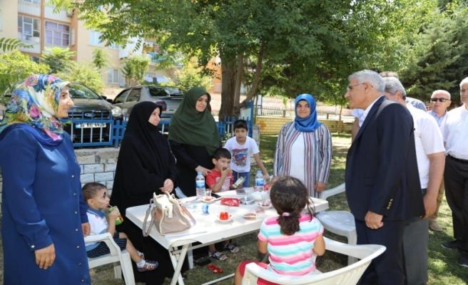 Mahalle Sakinleri Battalgazi'de Parklarına Sahip Çıkıyor