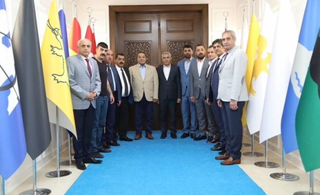 Fendoğlu'dan Başkan Güder'e Ziyaret