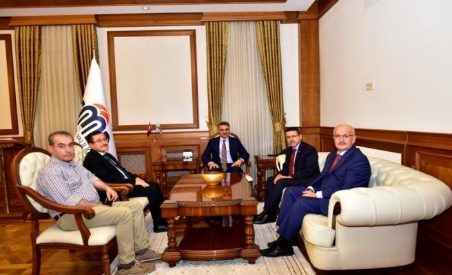 Sayıştay Başkanı Seyit Ahmet Baş'tan Vali Baruş'a Ziyaret