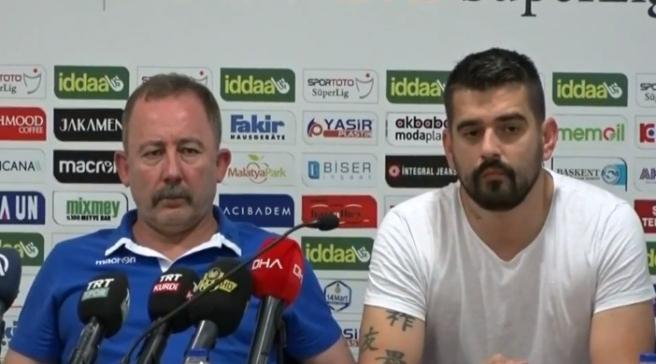 Sergen Yalçın, Partizan Maçı Öncesi Açıklamalarda Bulundu