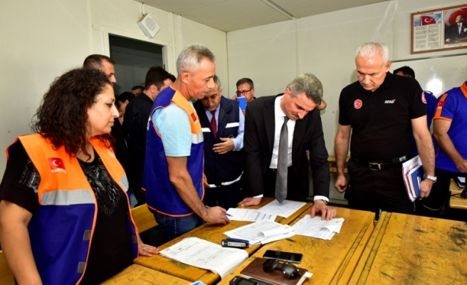 TAMP 2019 Ulusal Deprem Tatbikatı Malatya'da Gerçekleştirildi