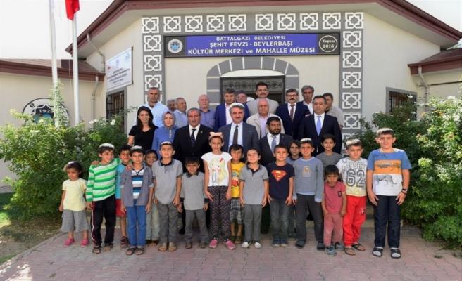 Vali Baruş'dan Beylerbaşı, Şehit Fevzi, Sarıcıoğlu ve Hidayet Mahalle Muhtarlarına Ziyaret