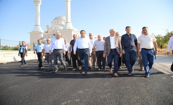 'Yeni İmar Yollarında asfalt serimi devam ediyor'