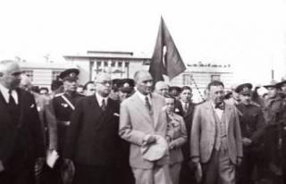 Baş Komutan Mustafa Kemal Atatürk'ün Malatya'ya...