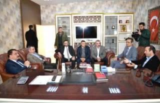 Başkan Gürkan'dan BYMS'a Destek Ziyaret