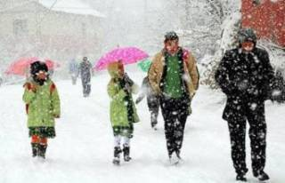 Malatya'da 13 Ocak Perşembe Okullar Tatil Oldu...