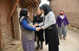 Yıldız Güder'den Depremzedelere Destek Ziyareti