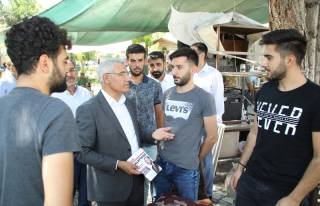 Başkan Güder, vatandaşları mitinge davet etti