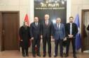 Başkan Güder'den İlçe Teşkilatına Ziyaret