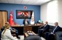 Başkan Gürkan, İtfaiye Merkezi'ni ziyaret etti