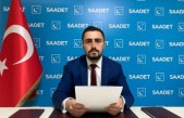 Cumhurbaşkanı Erdoğan'a SP Malatya Gençlik Kolları Başkanı Sofuoğlu'ndan Mektup