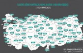 İl il vaka haritası güncellendi! Malatya'da son durum...
