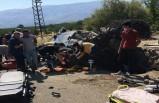 Kale Yolunda Kaza, 1 Çocuk öldü, 4 kişi yaralandı