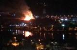 Orduzu Pınarbaşında Çıkan Yangın Korkuttu