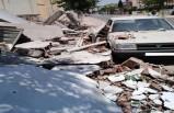 SSK Binasının Yıkımında Araç Zarar Gördü