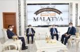 İçişleri Bakan Yardımcısı Çataklı'dan Başkan Gürkan'a Ziyaret