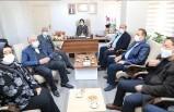 Başkan Güder'den Yeni Başkanlara Hayırlı Olsun Ziyareti