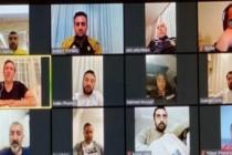 YMS yönetiminden telekonferanslı toplantı
