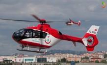 Beyin Kanaması Geçirdi Ambulans Helikopterle Malatya'ya Getirildi