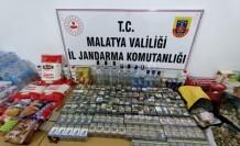 Çok sayıda sigara ve gıda malzemesi çalan hırsızlar yakalandı